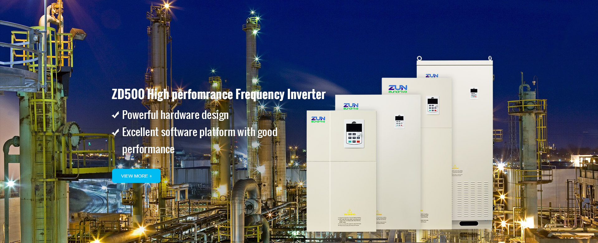 ZD500 High perfomrance Frequency Inverter