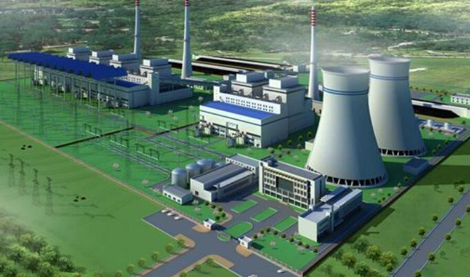 Works in power plant
